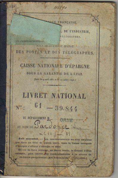 Caisse nationale d pargne livret national histoire de - Plafond livret durable caisse epargne ...
