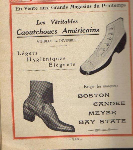 Lucien Sport · 1921 De Chaussures Histoire 1XaazY