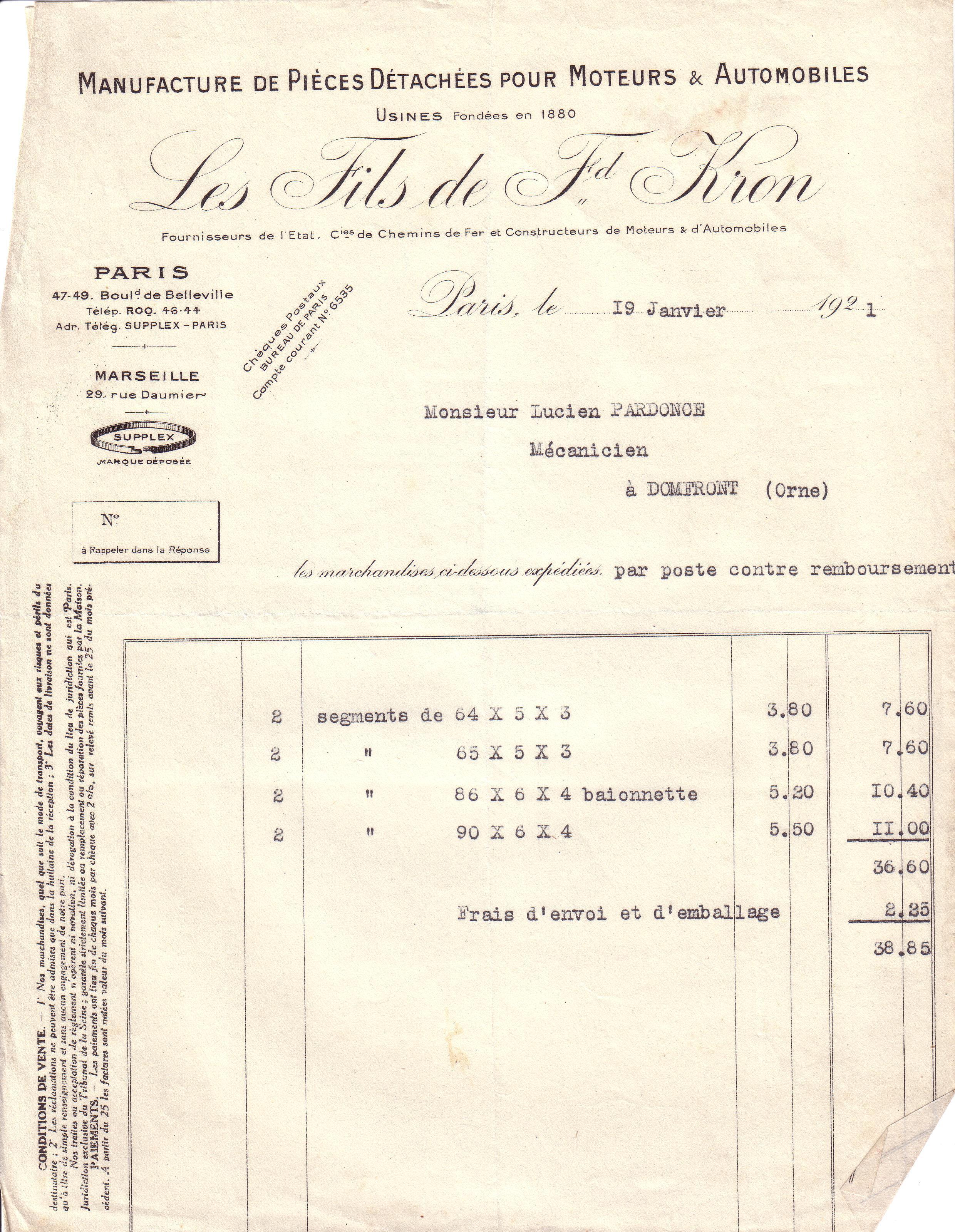 1921 : précis de mécanique dans Vie de Lucien 4d266a23