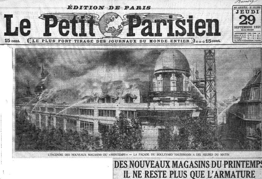 1921 : l'incendie du Printemps dans Miscellanees a4ec6cdd