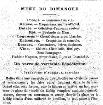 1921 : menu du dimanche dans Miscellanees menu-du-dimanche-11