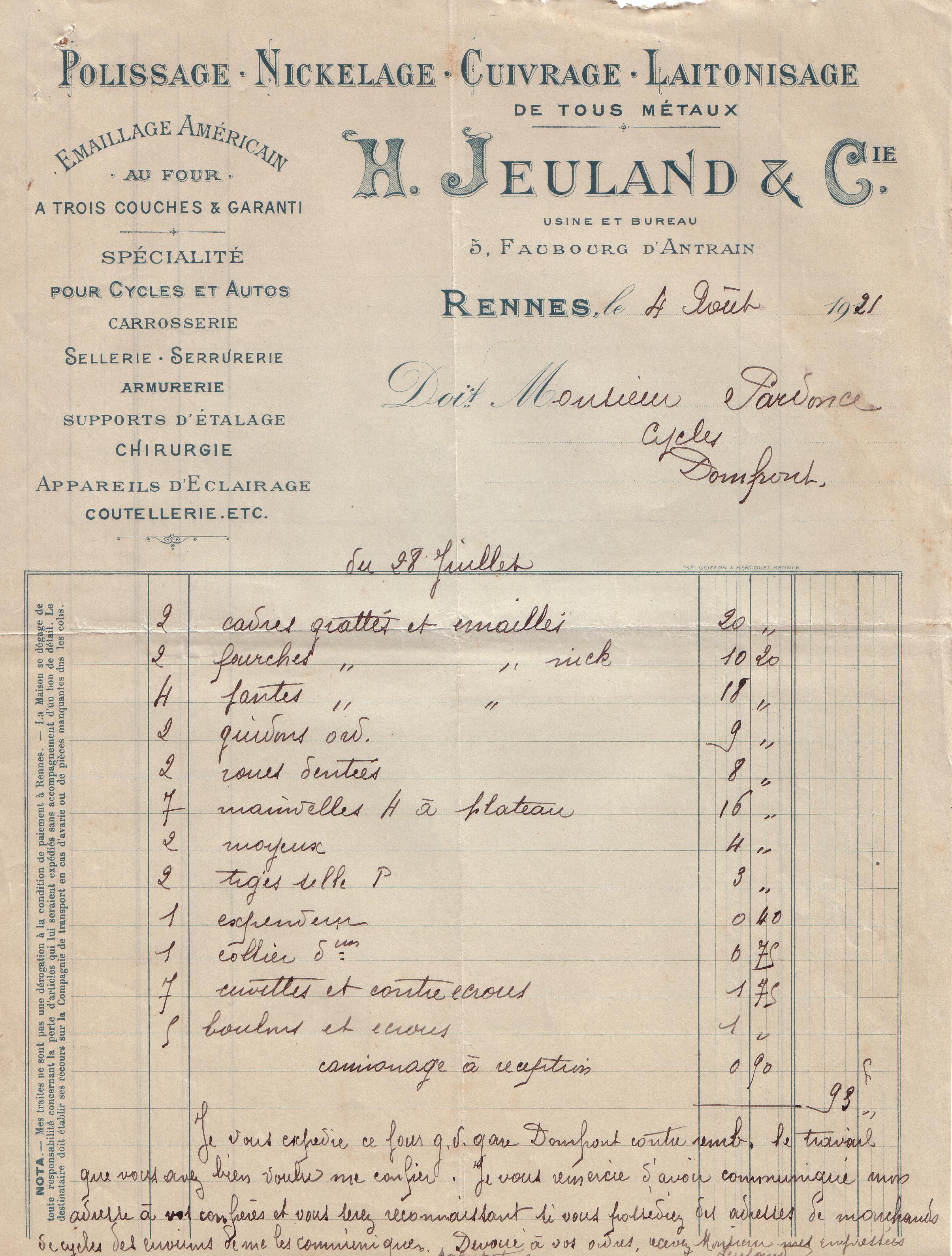 1921 : le polissage dans Vie de Lucien 3066859c
