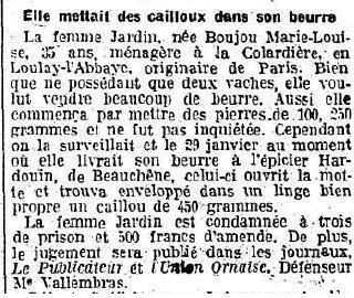 1921 : tribunal de Domfront dans Miscellanees beurre-03-1921