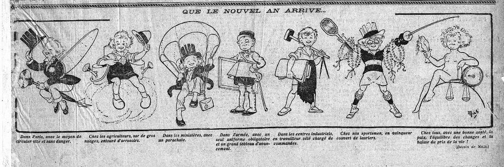 1922 : humour du Nouvel An dans Miscellanees 372e61a4