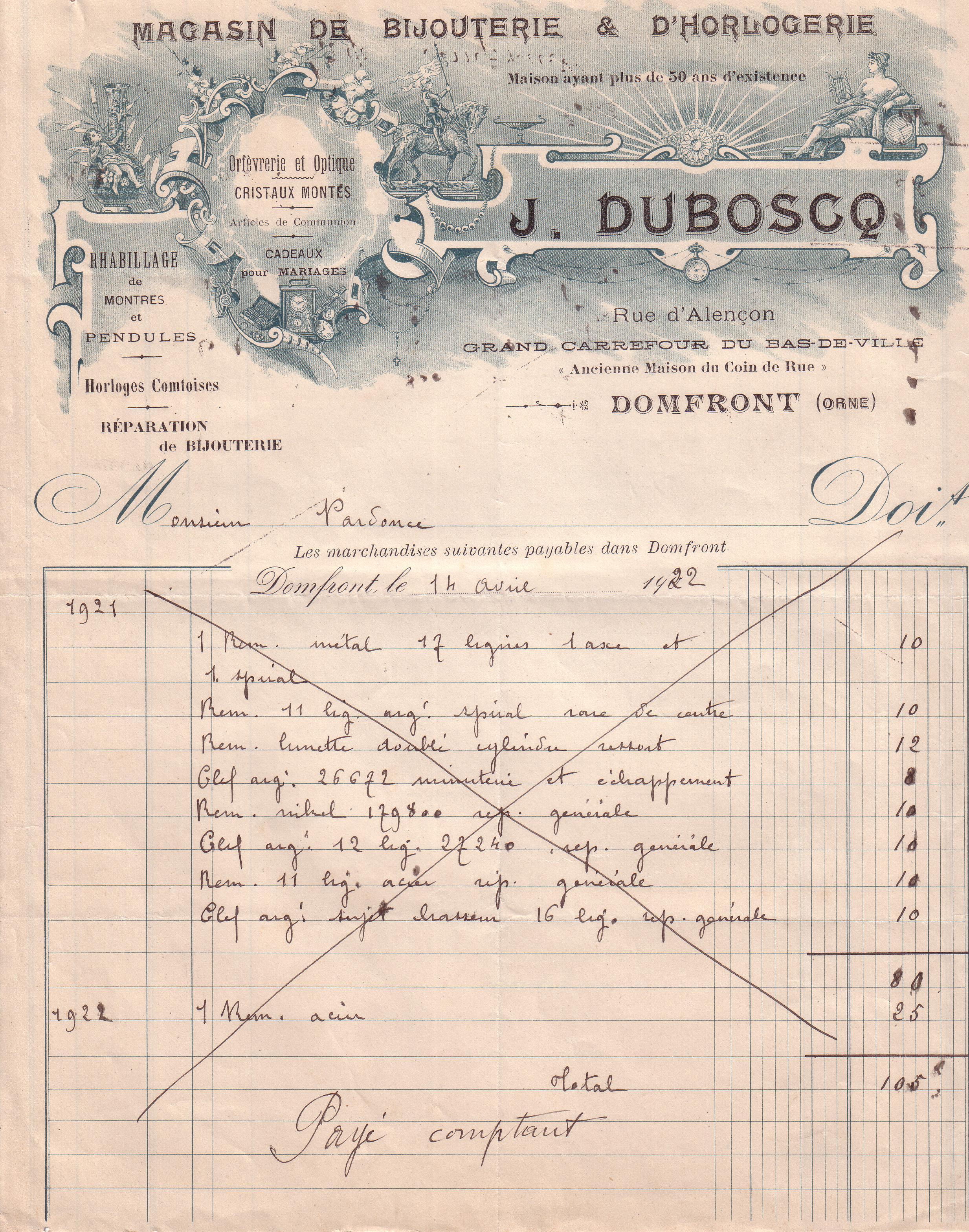 1922 : horlogerie dans Vie de Lucien 7cab6a6f