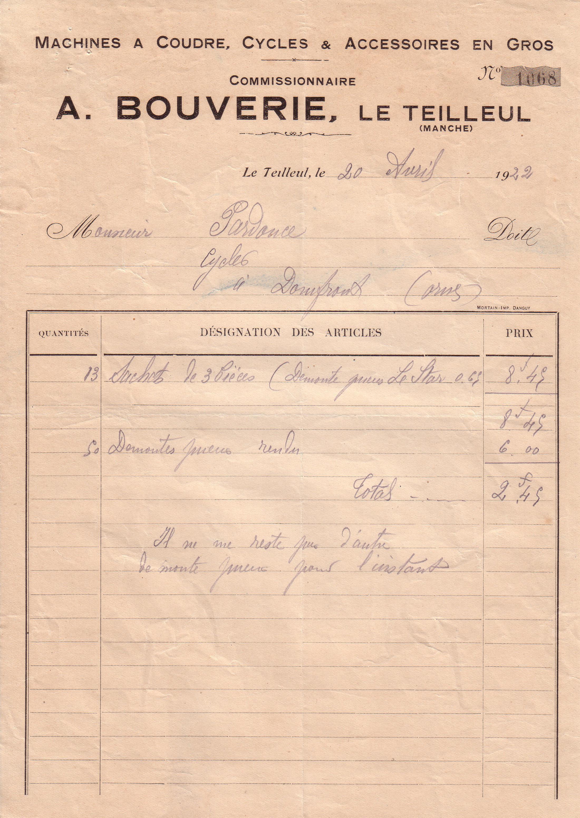 1922 : démonte-pneu dans Vie de Lucien 3a09a454