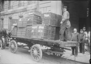 1923 : charrette dans Vie de Lucien f1_2-300x210