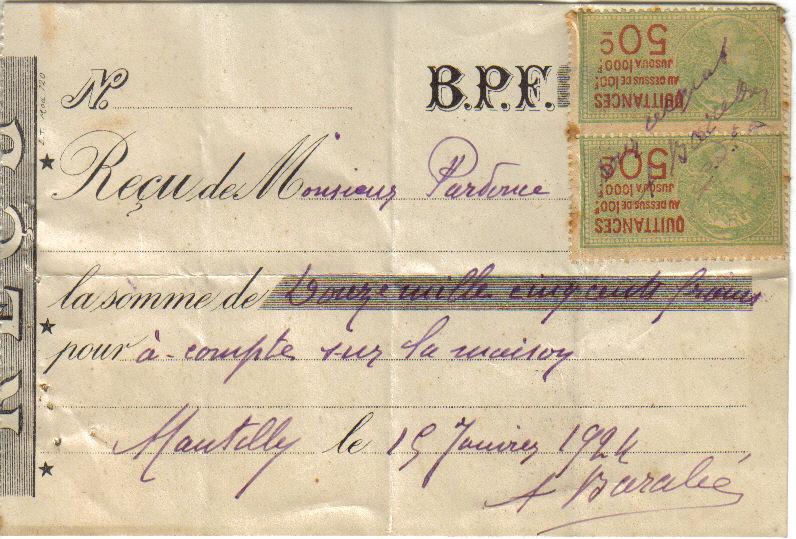 1924 achat de la maison histoire de lucien